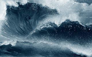 韓國首爾街頭出現「驚天巨浪」