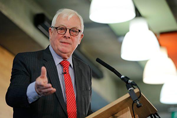 彭定康籲英國將港版國安法列入G7議程