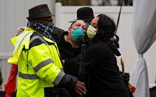 中国隐瞒疫情造成全球大流行,许多人染病去世,许多人痛失亲人。(ANDREW CABALLERO-REYNOLDS/AFP via Getty Images)