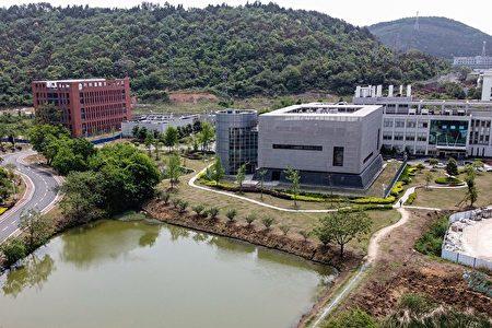 圖為武漢病毒研究所。(HECTOR RETAMAL/AFP via Getty Images)