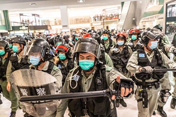 港澳辦發指令製造混亂 香港地下黨浮出水面