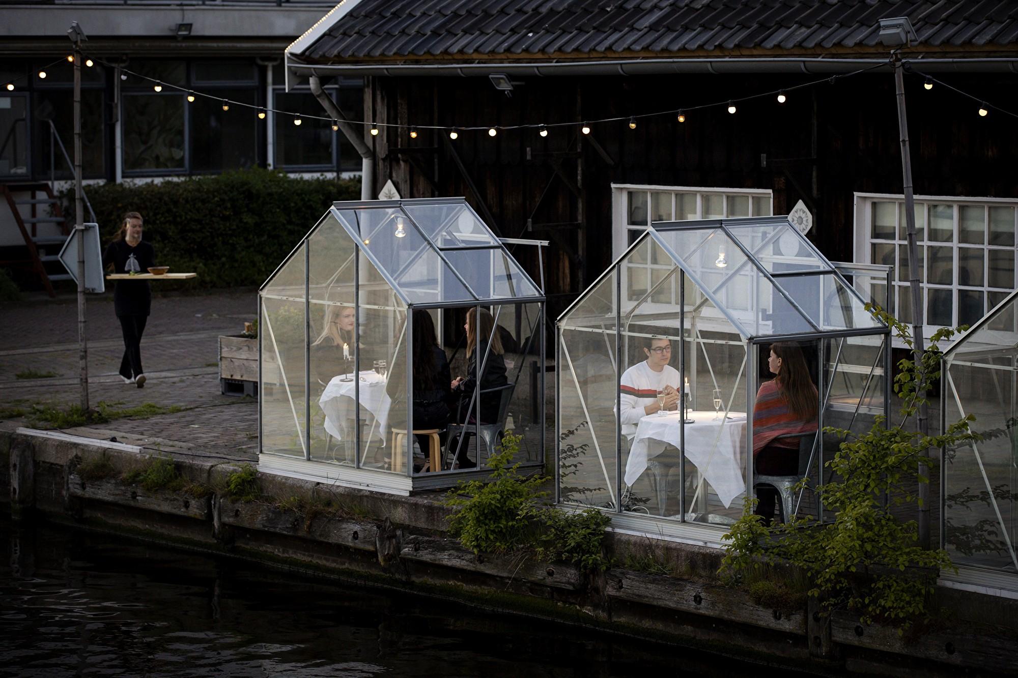疫情下如何讓客人店內進餐 荷蘭餐館有妙招