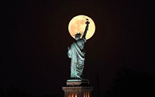 今年最後一個超級月亮 「花月」美景共欣賞