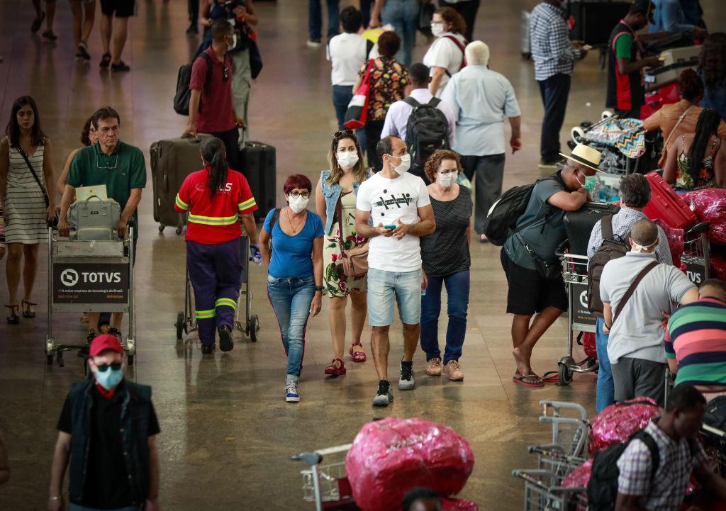 巴西染中共病毒者單日死亡過千 特朗普考慮旅行禁令
