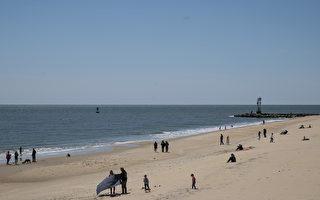 華府周邊熱門海灘重開 仍需遵守疫情措施