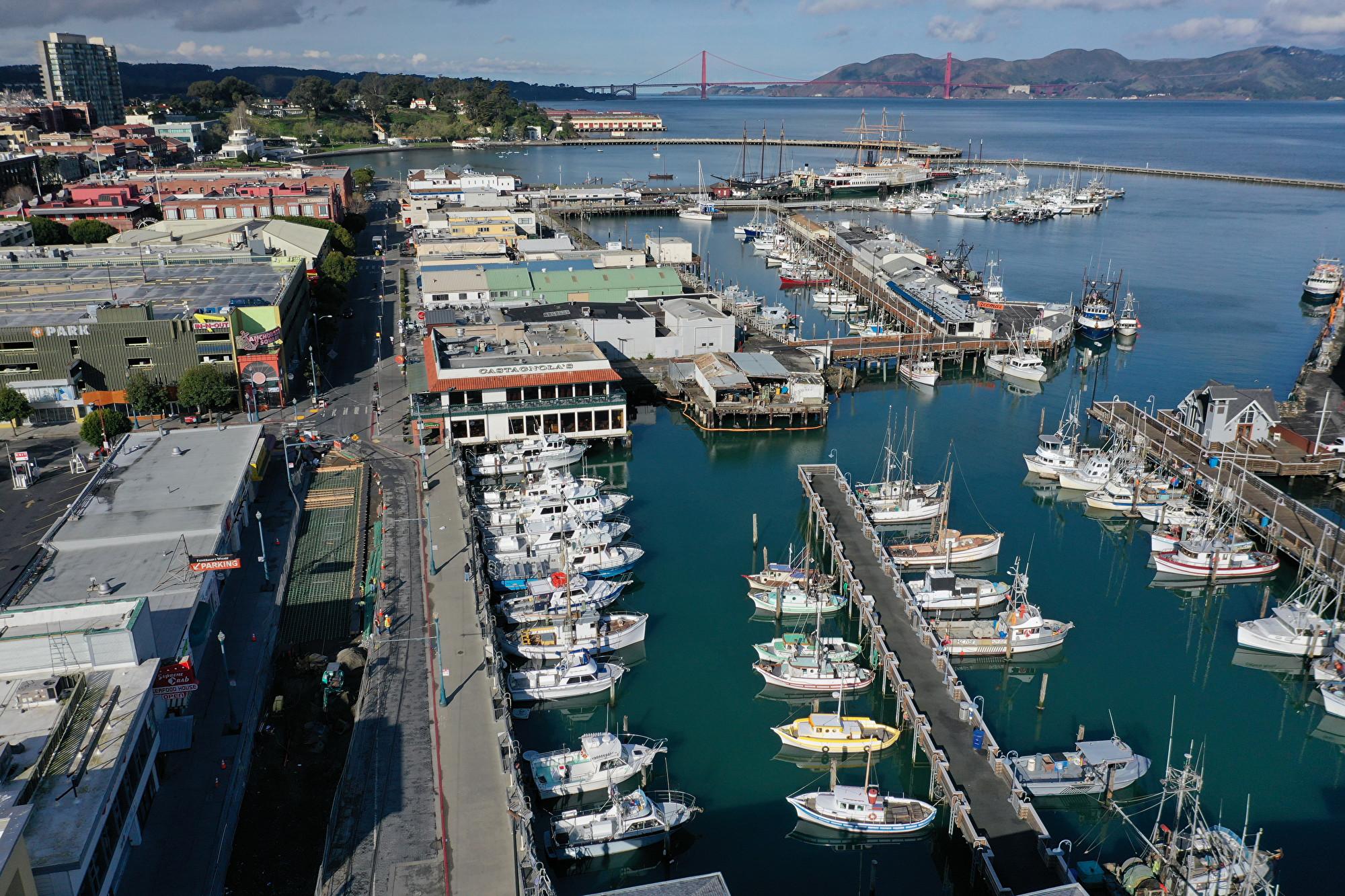 【快訊】舊金山漁人碼頭四級大火