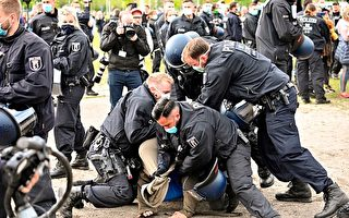 反對嚴管 德國多市舉辦千人抗議活動