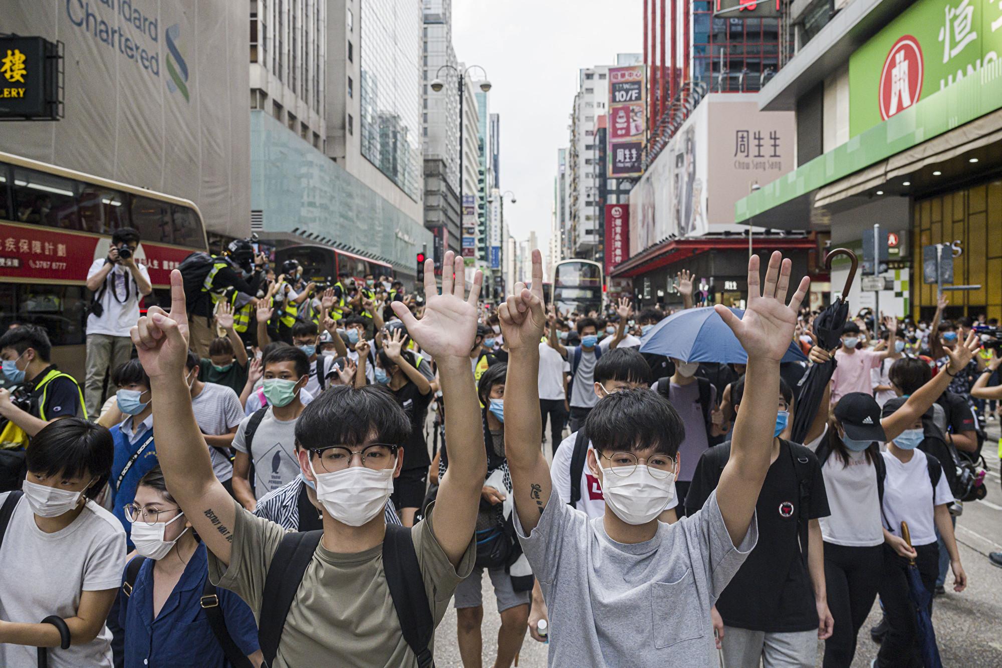 【5.27反國歌法直播】國歌法二讀 港人立法會抗議