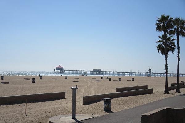 橙縣城市控告州長關閉海灘案進入聽證