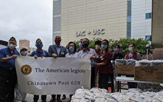 羅省退伍軍人送「幸運」餅乾上醫療前線