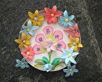 动手做:母亲节黏土花朵卡