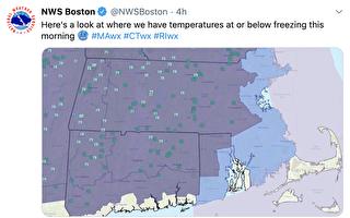 2020.5.13 波士頓5月低溫破紀錄