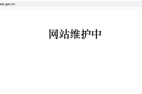 2020年5月27日,中共民航局官網截圖。