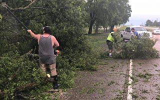强雷暴风袭击田纳西  纳城遭史上最严重断电