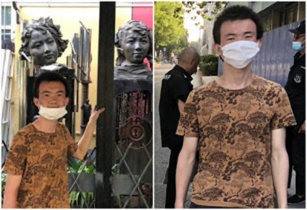 北大保安張盼成5月20日出獄。(維權網)