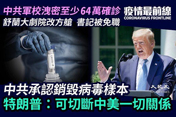 【疫情最前線】中共軍校洩密:至少64萬確診