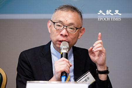 國立台灣師範大學政治學研究所教授范世平。(陳柏州/大紀元)