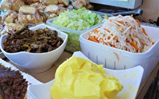 外带街头美食!越南娇娘的夹心法国面包