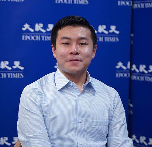 香港中西區區議員、港大學生彭家浩。(大紀元)