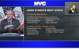 紐約市4日起封街7哩 讓民散步