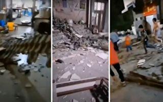 云南5级地震致4死24伤 居民:房子垮了