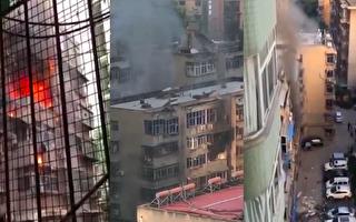 【現場視頻】西安小區天然氣閃爆 致1人死亡