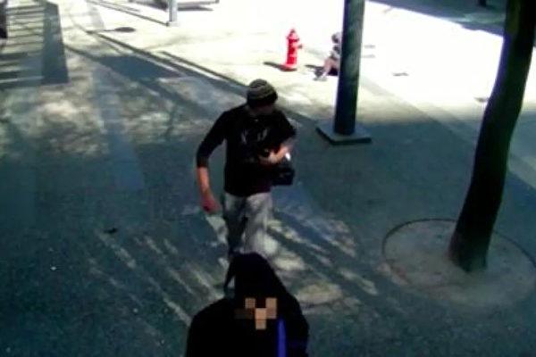警方公布的嫌犯图片