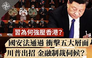 【十字路口】习为何压香港 港国安法冲击五层面