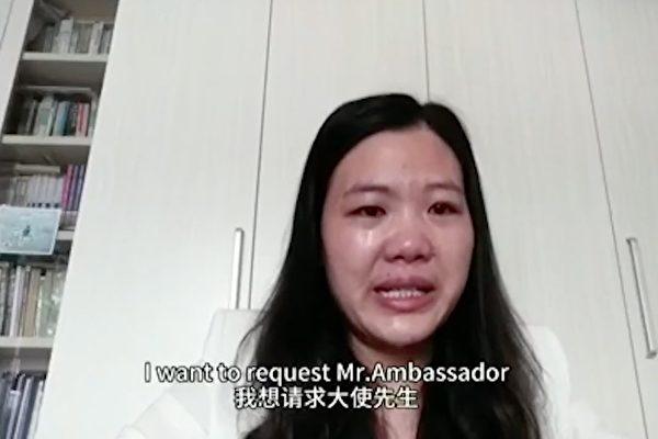 余文生失踪两年半 妻子许艳视频求助各国大使
