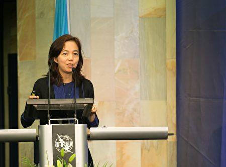 推特新任獨立董事李飛飛。(ITU Pictures/Wikimedia commons)