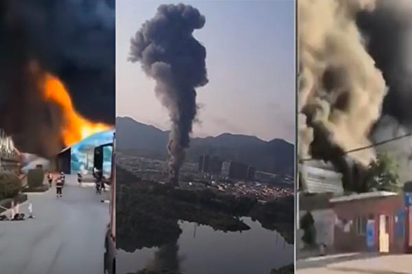 【现场视频】石家庄、深圳均现火灾 浓烟滚滚