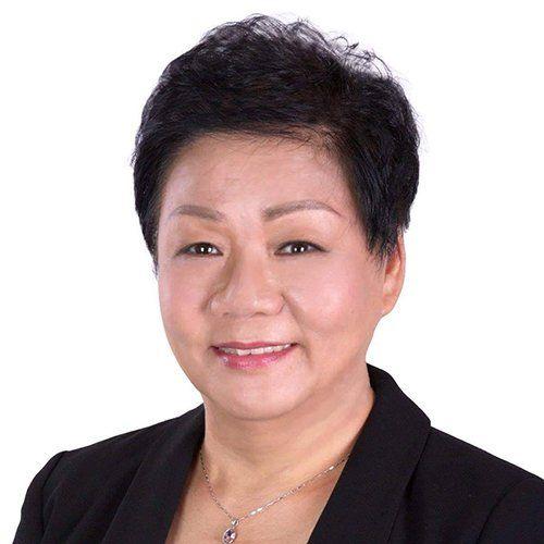 前香港立法會議員、黃大仙區議員譚香文。(大紀元)