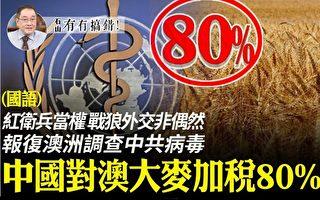 【有冇搞错】报复调查病毒 中国对澳大麦加税80%