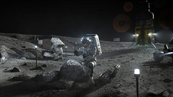 阿提米絲計劃是美國總統特朗普在2017年指示NASA啟動的登月計劃。在此計劃之下,人類最晚將在2024年重返月球,並嘗試建立長期據點。(NASA)