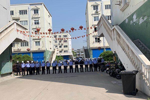 疫期人流少 上海青浦區政府趁機強拆民房