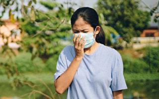 空气中的细悬浮微粒PM2.5,对异位性皮肤炎、气喘等过敏疾病非常有害。(Shutterstock)