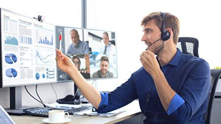 居家视频会议5个小细节 让你的简报更专业