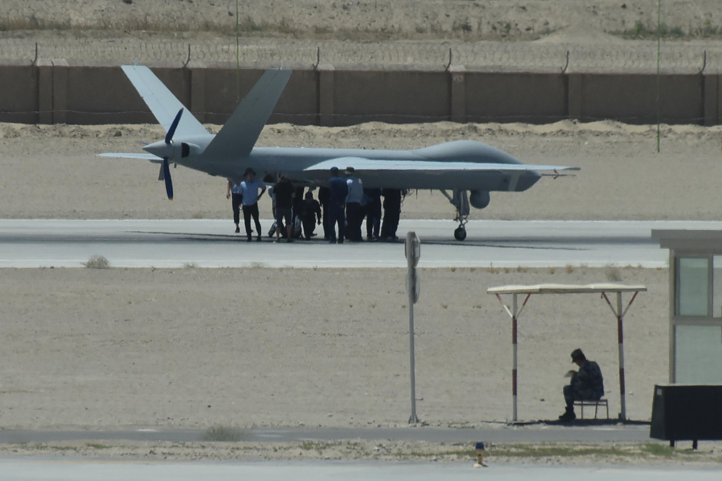 中製無人機在阿爾及利亞墜毀 已經第三次