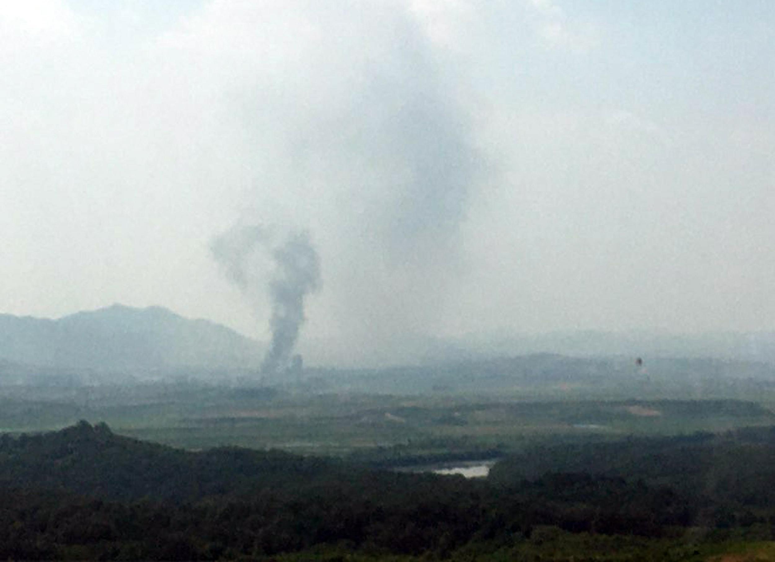 北韓炸毀朝韓聯絡辦公室 美國務院回應