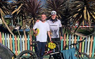 騎自行車行千里 澳兩小伙籌款助科研