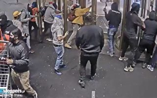 警方公布上週一闖入梅西百貨嫌犯視頻