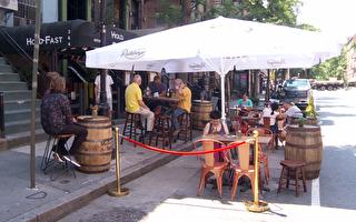 幫餐館拉抬業績 市府在封街路段開放戶外用餐