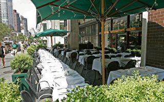 纽约市餐馆  最快7月可在户外用餐