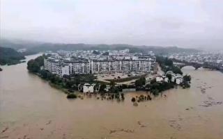 三峽上游暴雨成災 水還在漲