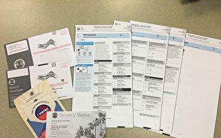 45万无效选民在册 加州全面邮寄选举遭质疑