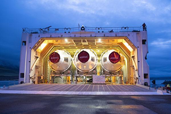 4月5日在加州范登堡空軍基地的三角洲4號重型運載火箭。(美國太空軍網站)