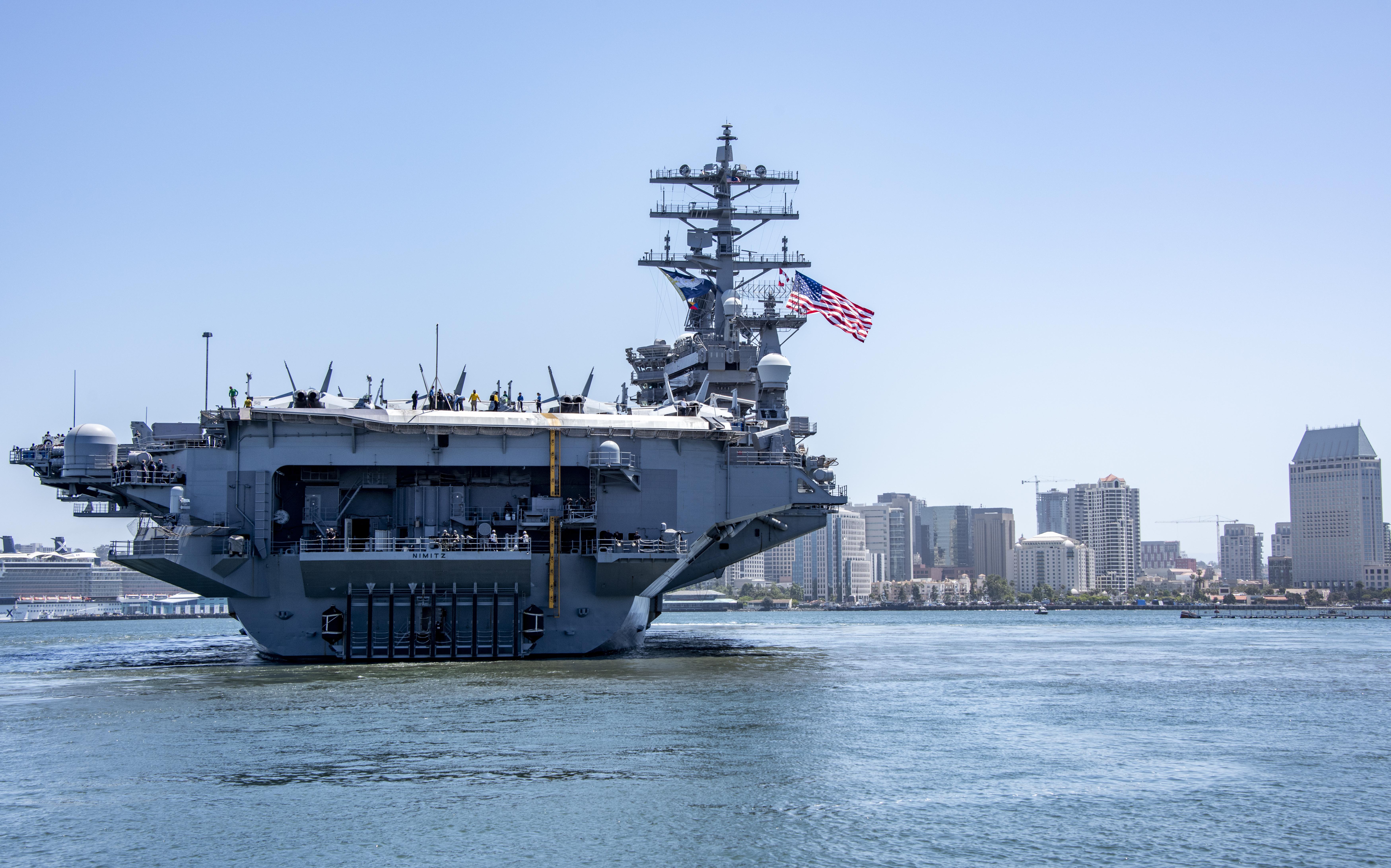 疫情後首次 美向太平洋再部署兩航母戰鬥群