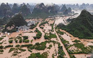 大陆洪灾一个多月 长江中下游迎来最强降雨
