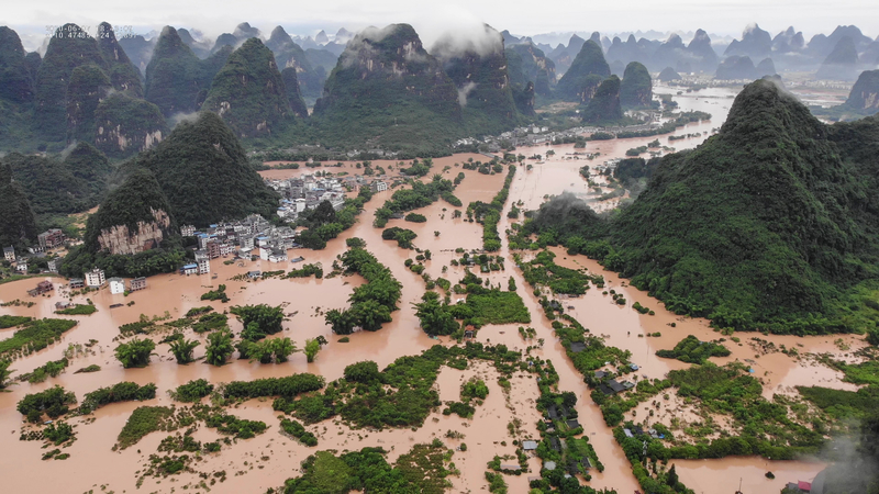 26省市遭洪災 官媒承認三峽大壩洩洪