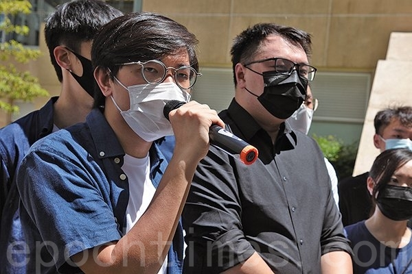 香港本土派青年参选立法会